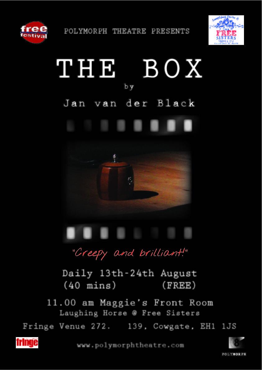 Poster image of Edinburgh Fringe production 2014